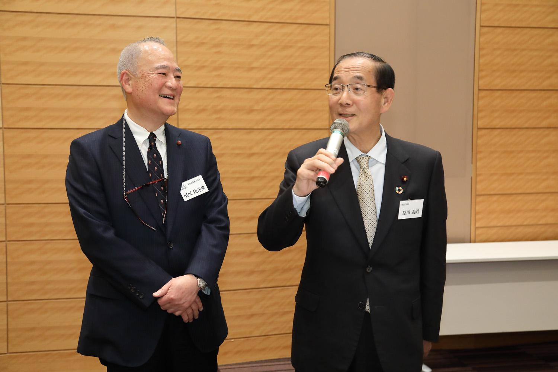 尾尻佳津典 原田義昭 日本の医療の未来を考える会