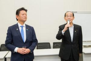 三ツ林裕巳 原田義昭 日本の医療の未来を考える会