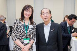 日本の医療の未来を考える会 田邉尚子 原田義昭