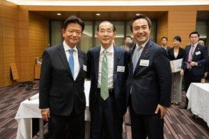 日本の医療の未来を考える会 三ツ林裕巳 原田義昭 大隈和英