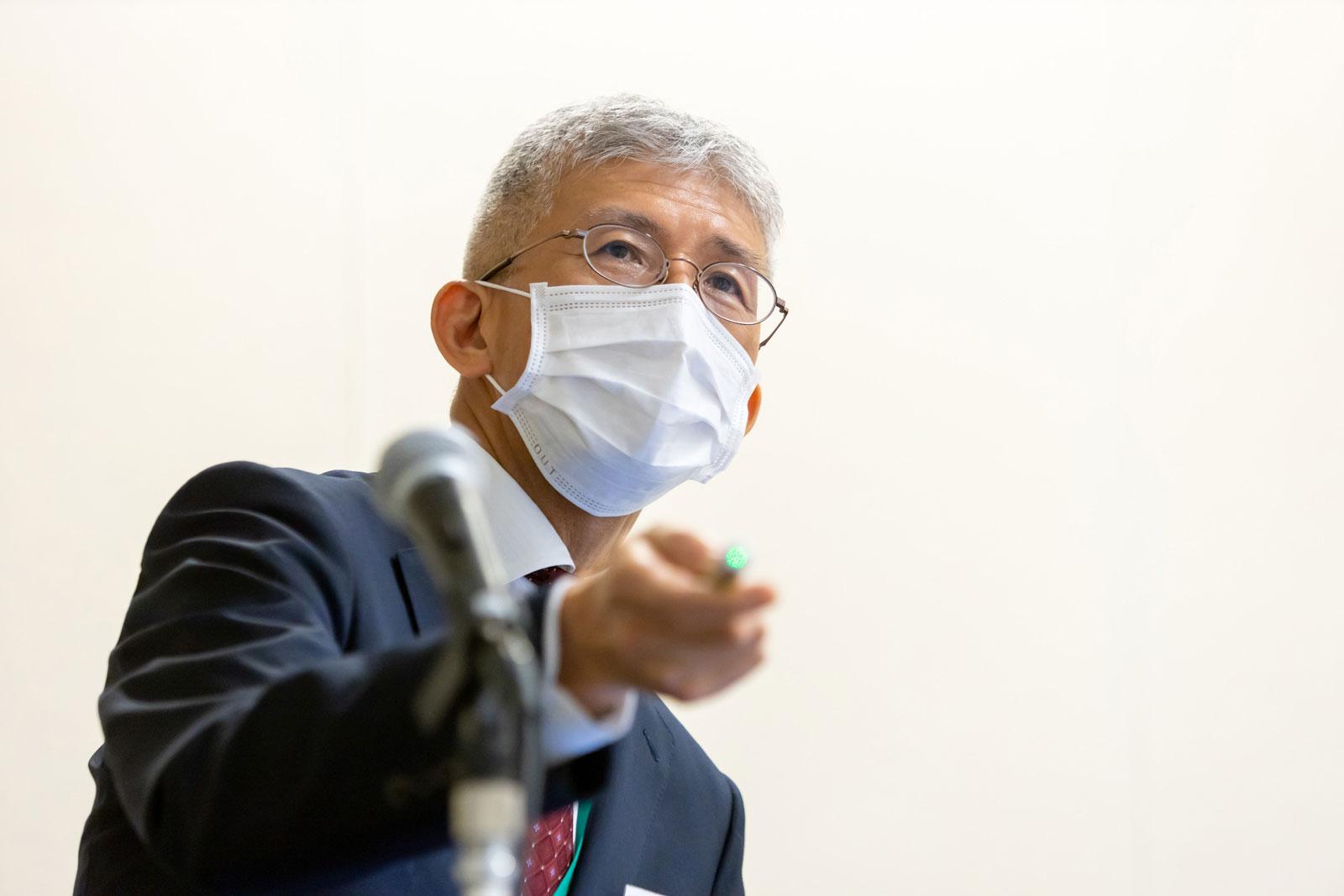 第45回 新型コロナウイルス感染症に 自衛隊中央病院はどう対処したのか(上部泰秀 先生)
